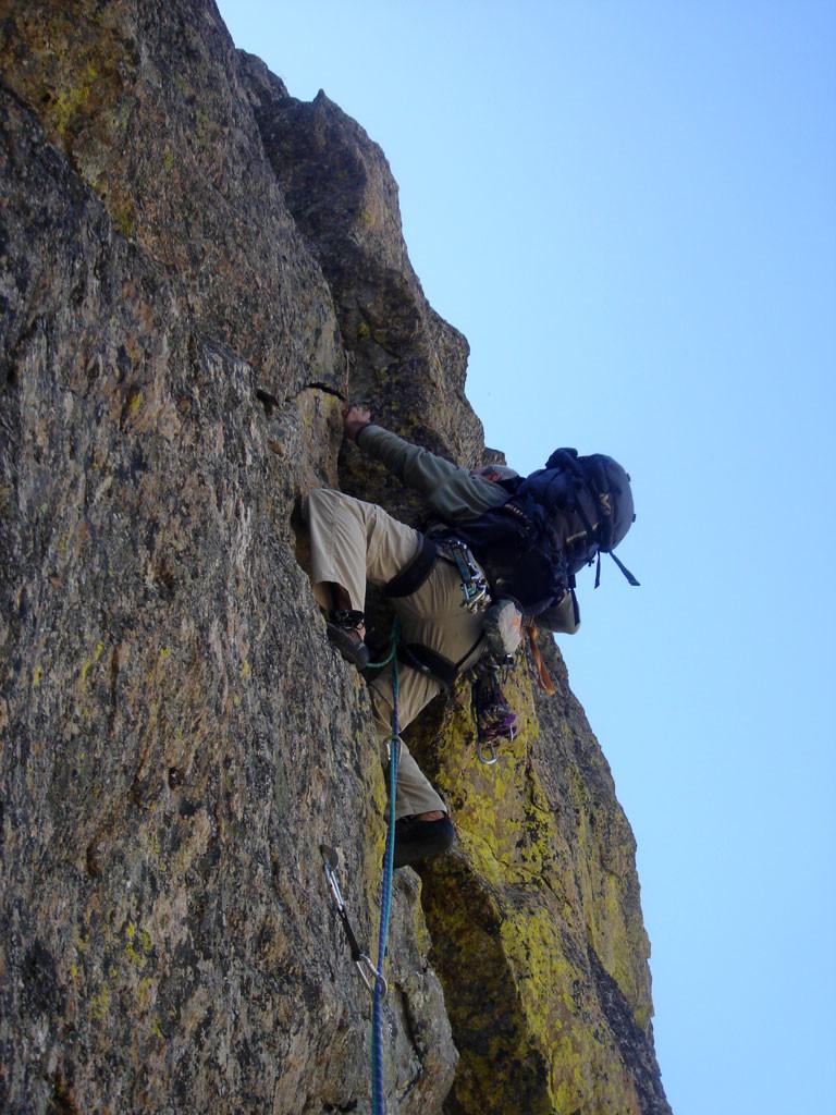 Voie Dufour au Petit Cayre