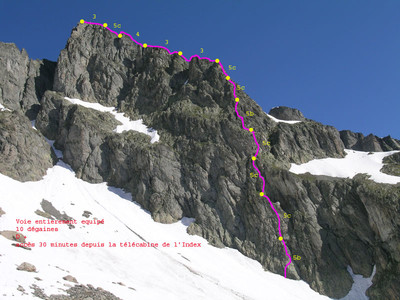 Ravanel Route, Aig des Crochues
