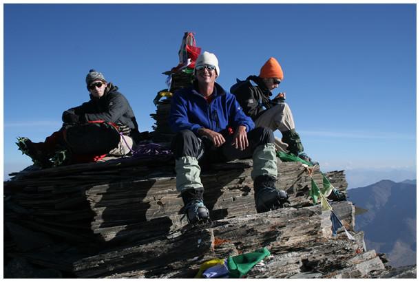 ascension du kang yatse (6134m) - Ladakh