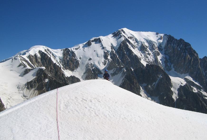 Mt. Blanc- vu depuis Dôme de Miage