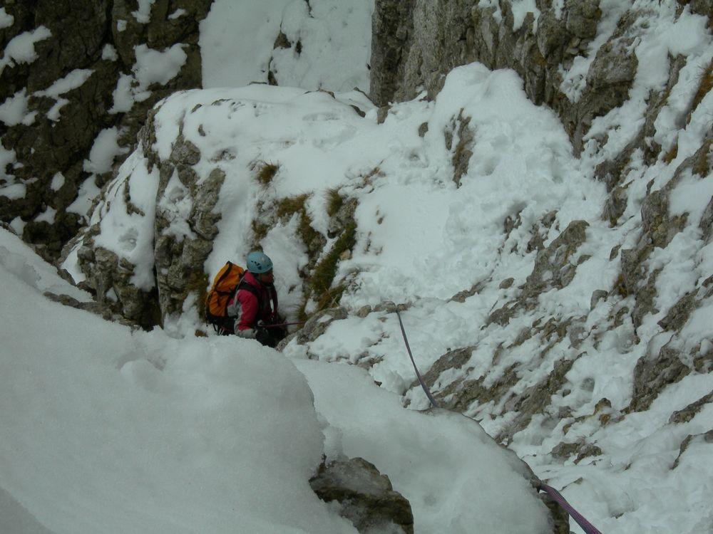 Mt Aiguille voie normale.