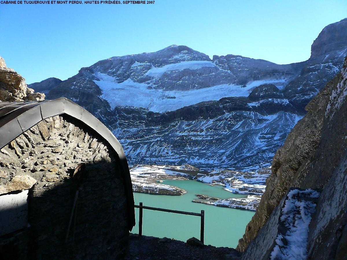 Refuge de Tuquerouye et Mont Perdu