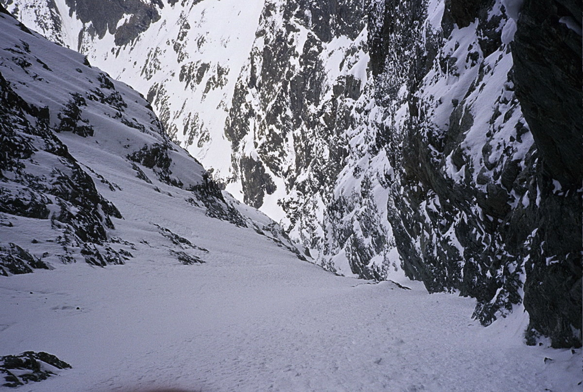Olan Couloir occidental