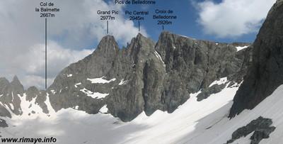 Les Trois Pics de Belledonne