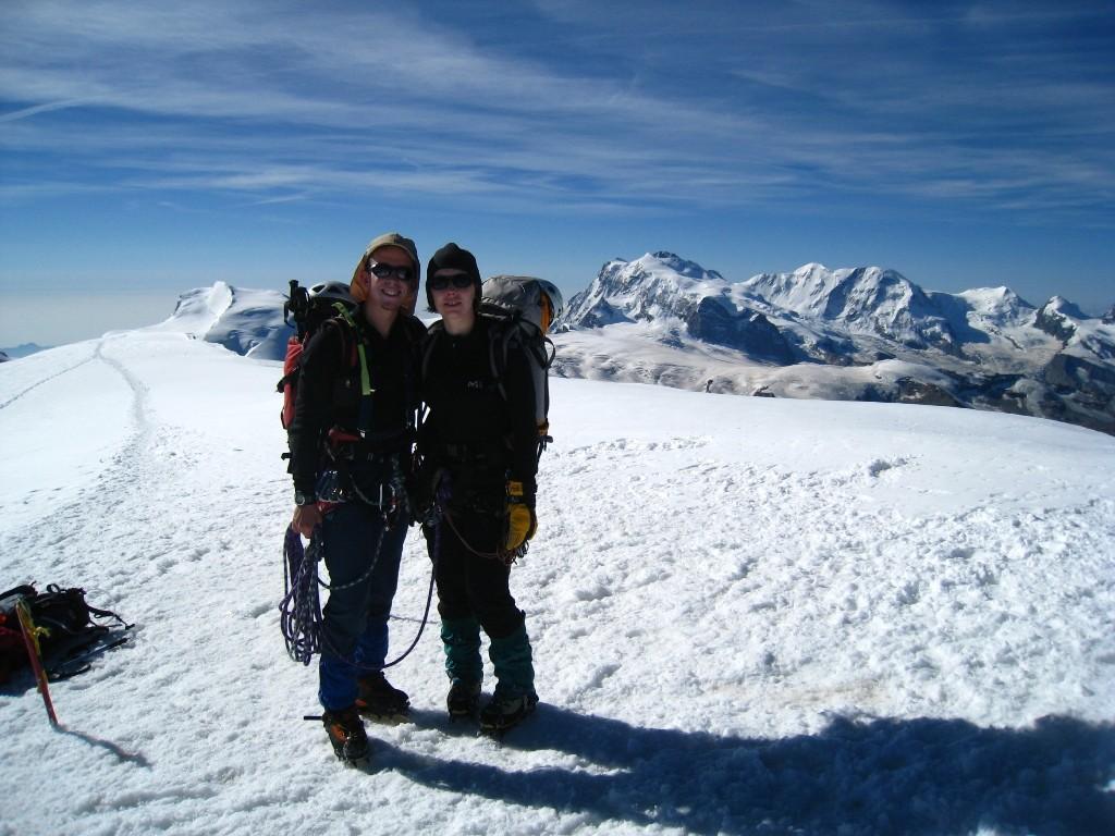 Au sommet ! où nous avons passé 1h à nous délecter du paysage