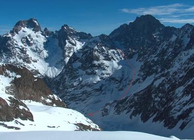 Le versant W du Col du Chéret (et ses illustres voisins)