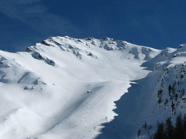 Mait d'Amunt - versant NW - descente intégrale