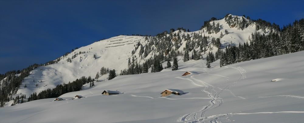 Chalets et Mont de l'Arpille
