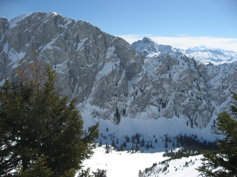Mont Chauffé au dessus d'ubine