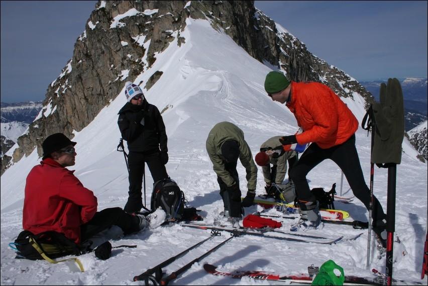 Les C2Cistes au Col du Mouchillon