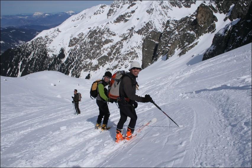 Dans la descente du Col du Mouchillon (1)