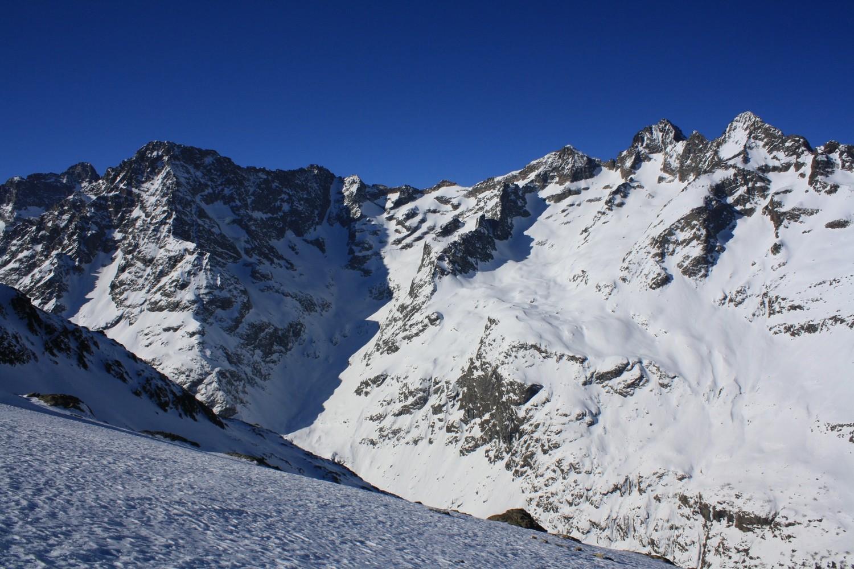 Le cirque du glacier d'Entre-Pierroux