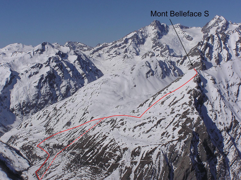 Mont Belleface sommet S (Val d'Aoste)