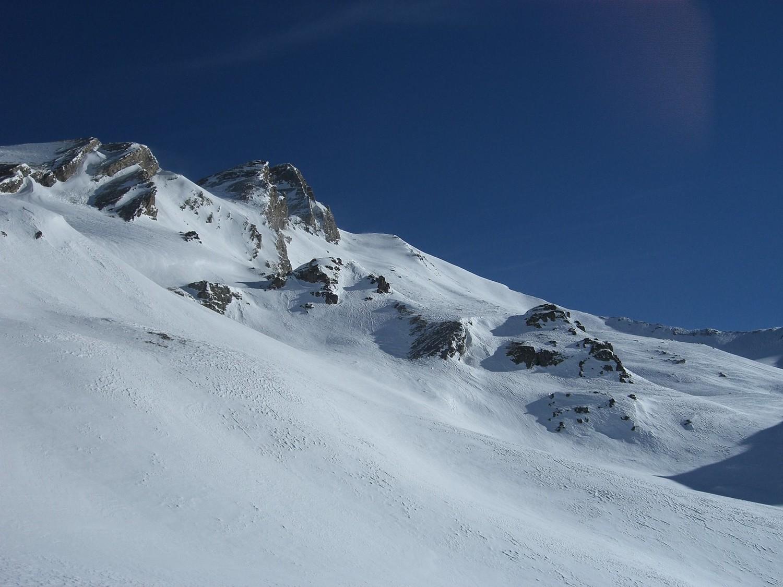 Col d'Asti versant SO