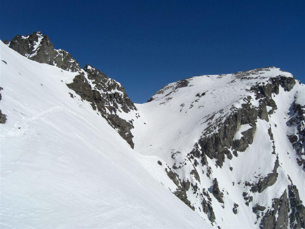Passo Luisas et Monte Meidassa depuis le Col