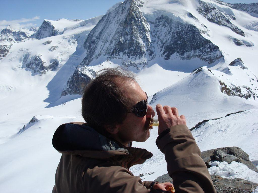 Pique-nique. Mt-Blanc de Cheilon