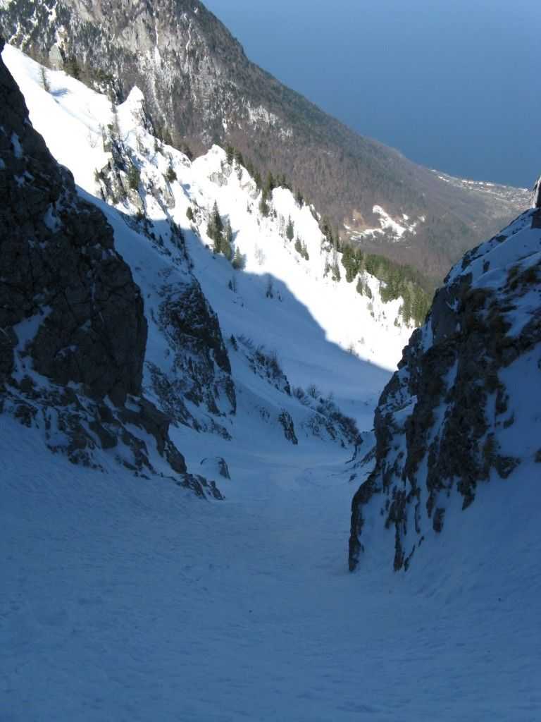 Couloir NW: Belle ambiance !!!