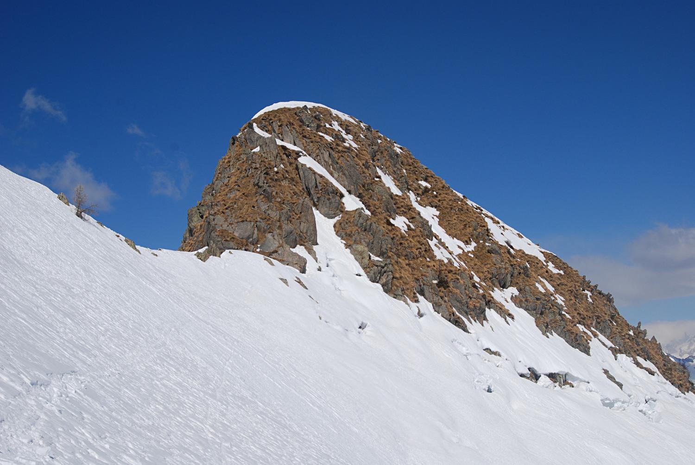 La cima del Foppone 2304 m.