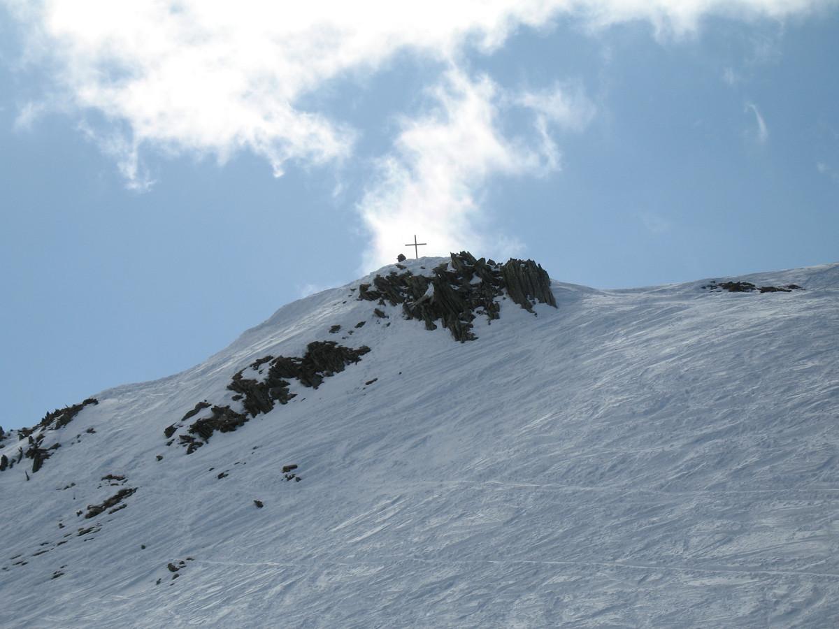 Le sommet de la Pointe Ronde
