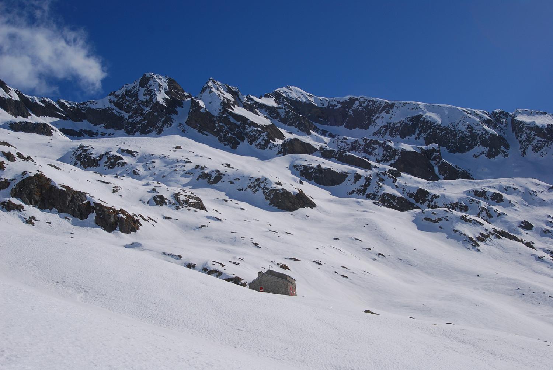 Il rifugio Alessandro Volta 2212 m