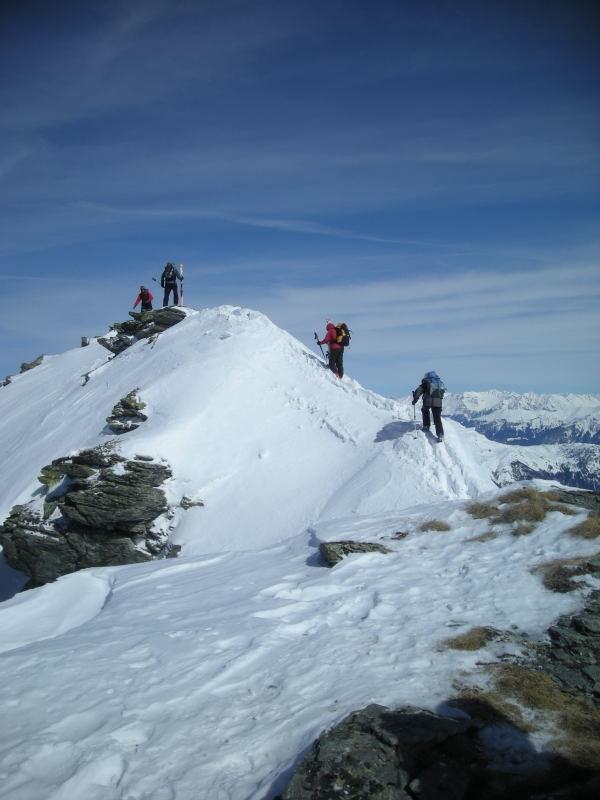 Traversée du sommet du Guggernüll
