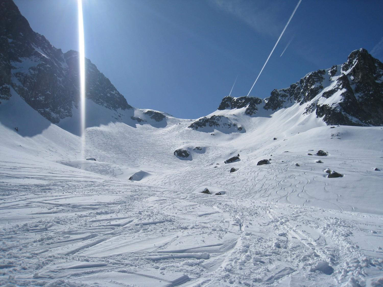 Le Col du Mouchillon, versant N