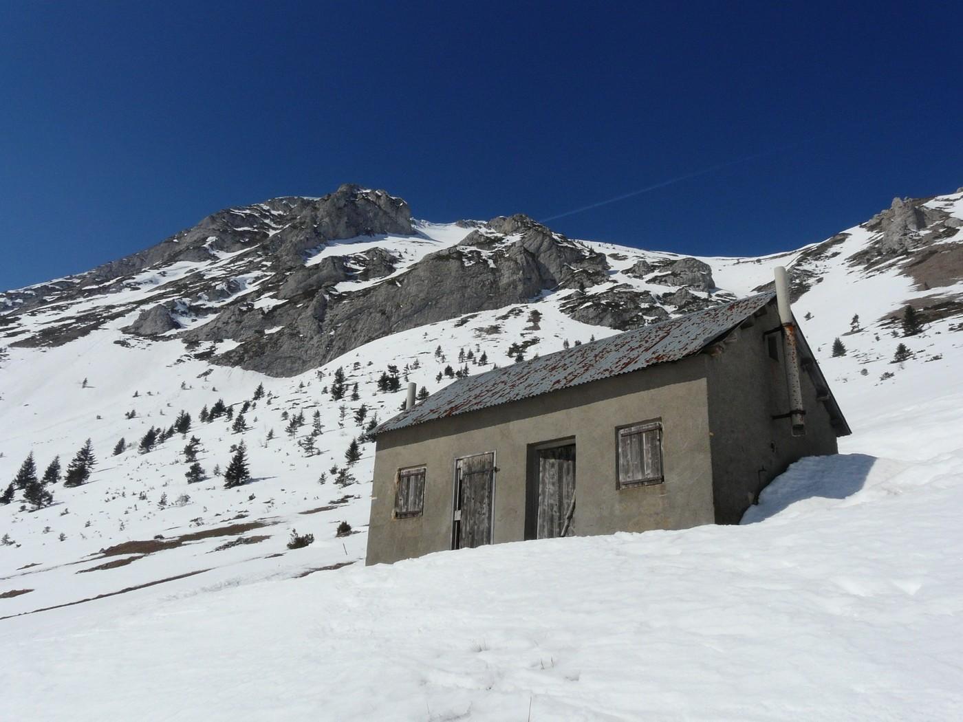 Cabane de l'Aup (Devoluy)