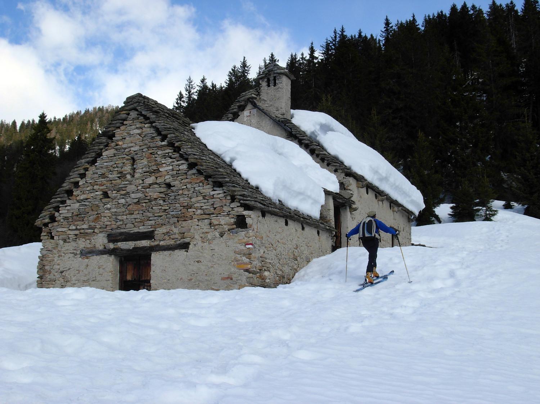 Stupenda baita all'Alpe Pragrande