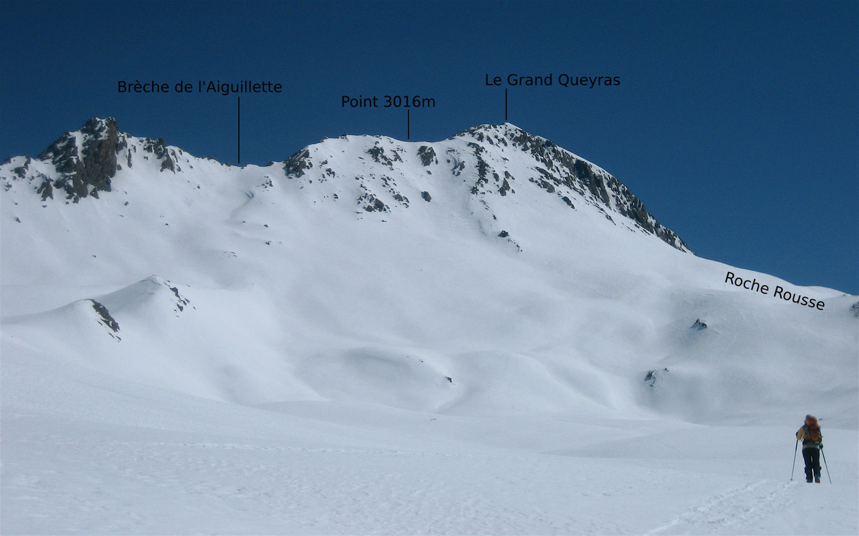 Grand Queyras - versant W