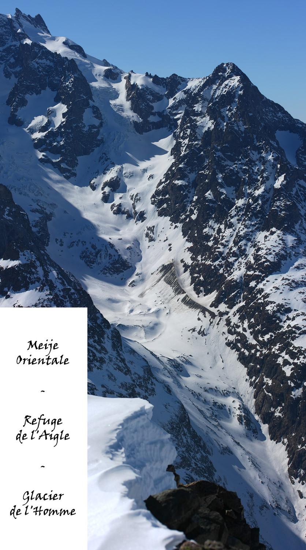 Glacier de l'Homme (Meije)