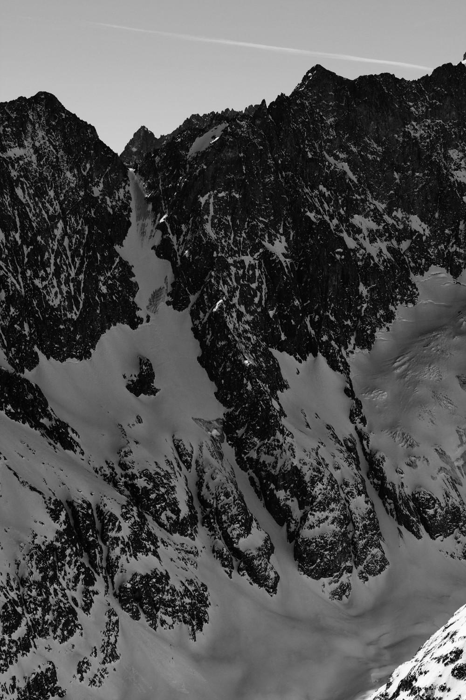 Col de la Roche Faurio, couloir N