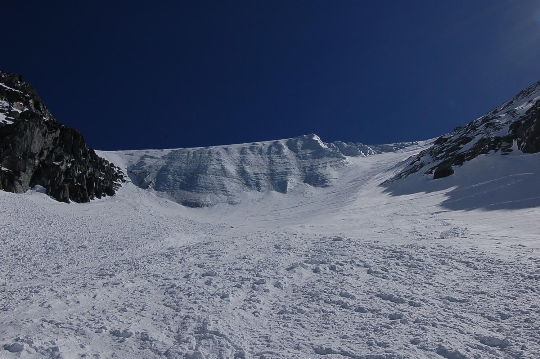 Glacier Pendant au Petit Combin