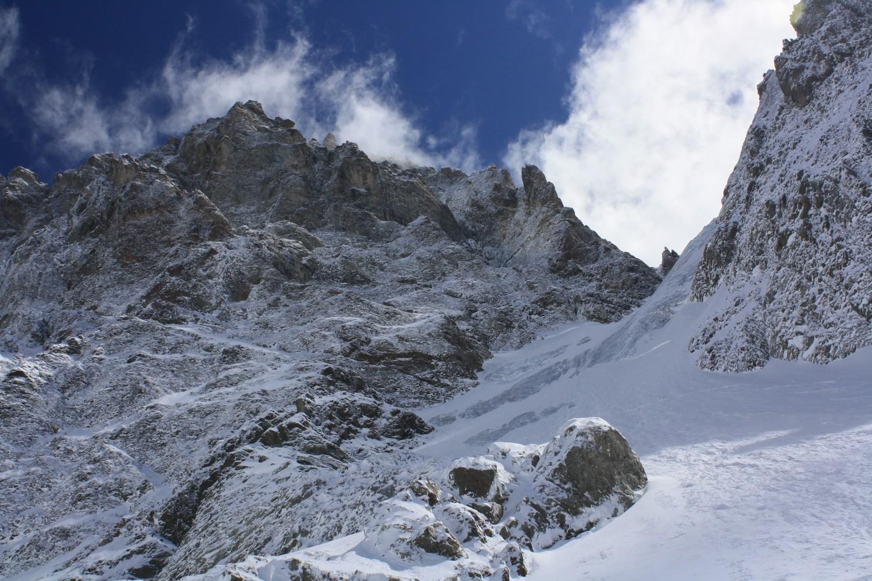L'Ailefroide Occidentale et le Glacier Long