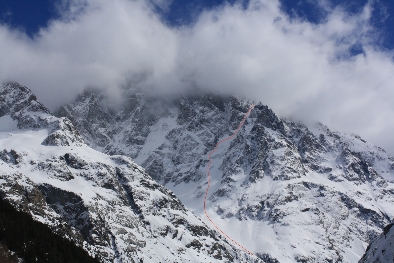 L'Ailefroide et le Glacier Long, de retour au Plan du Carrelet