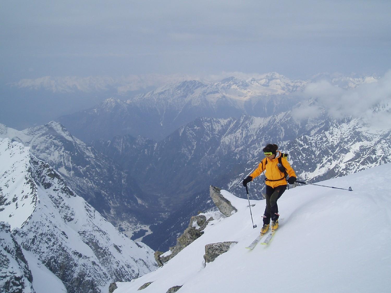 Prima curva sopra la Val Codera