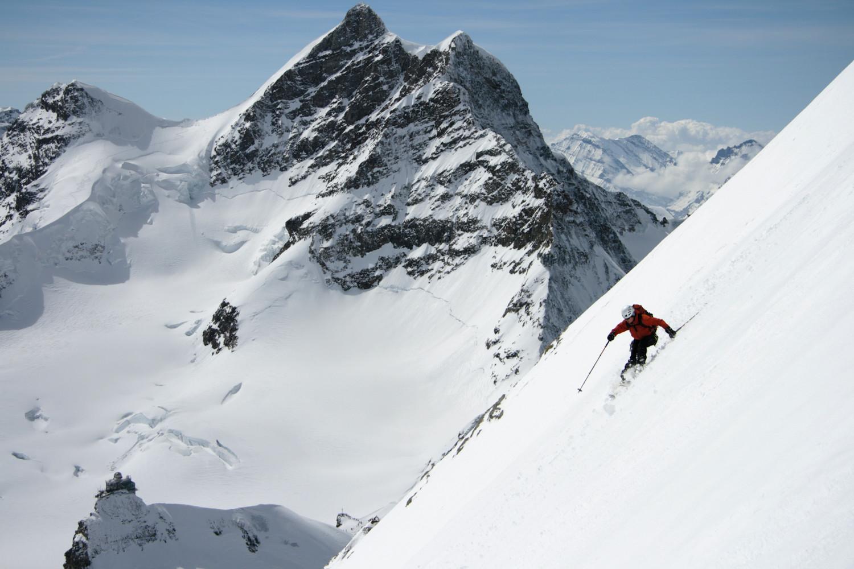 Marc devant la Jungfrau