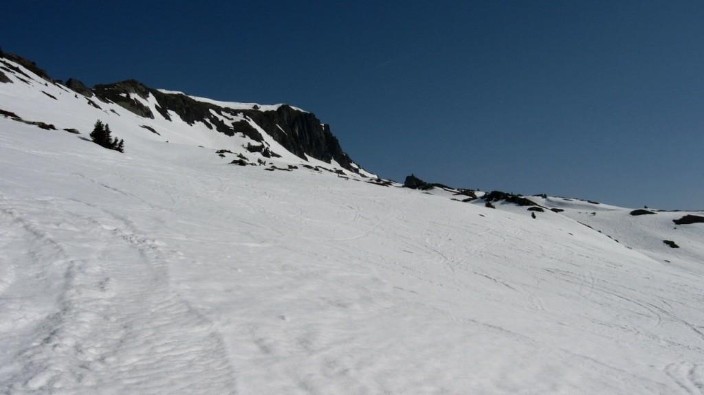 Le sommet de l'Aiguillette des Posettes