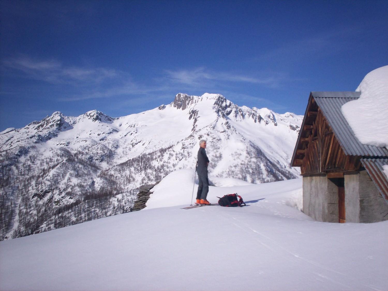 Salendo al Pizzo Massari. Alpe Massari