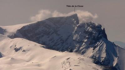 Tête de la Cluse (hiver)
