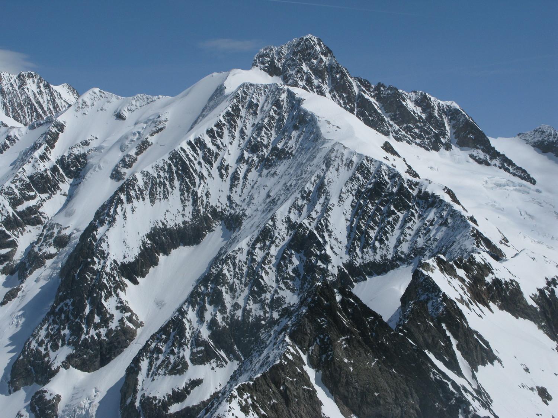 Aiguille des Glaciers depuis le Tondu