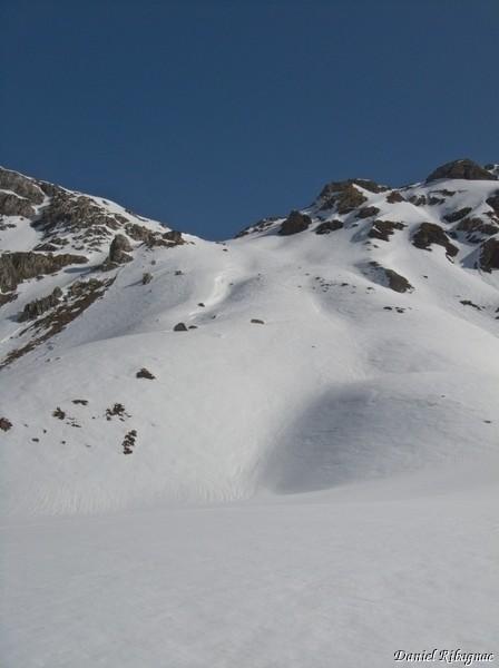 Combe au dessus du lac du Touno