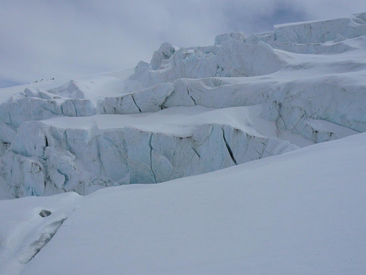 Tra i ghiacci
