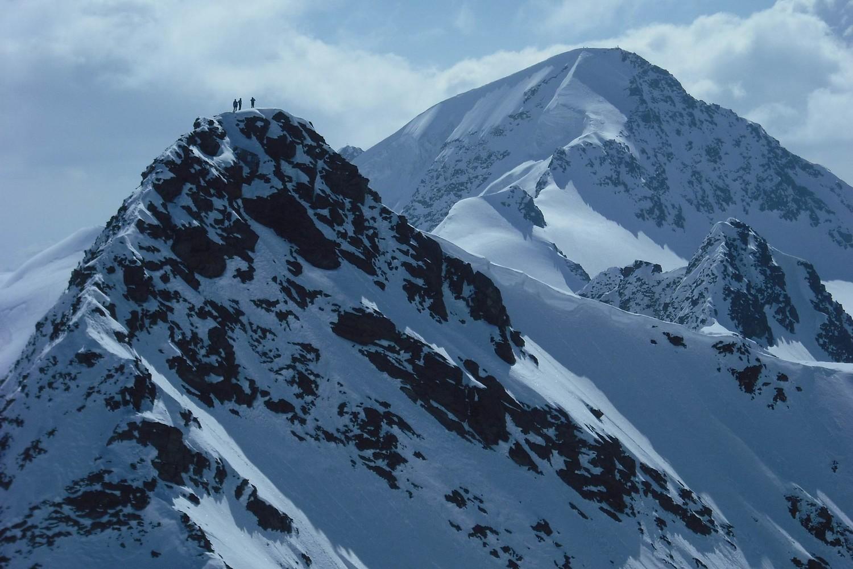 in vetta alla punta Pedranzini