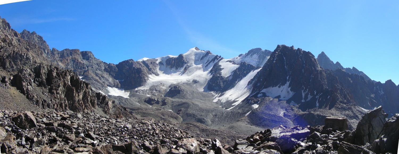 El Rincón Alpino; Vista hacia el WNW