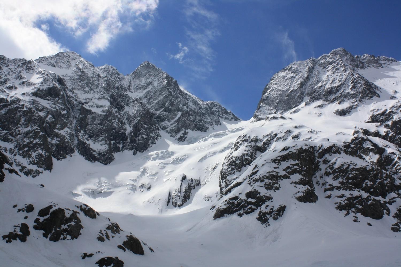 Le versant N du Col du Chardon