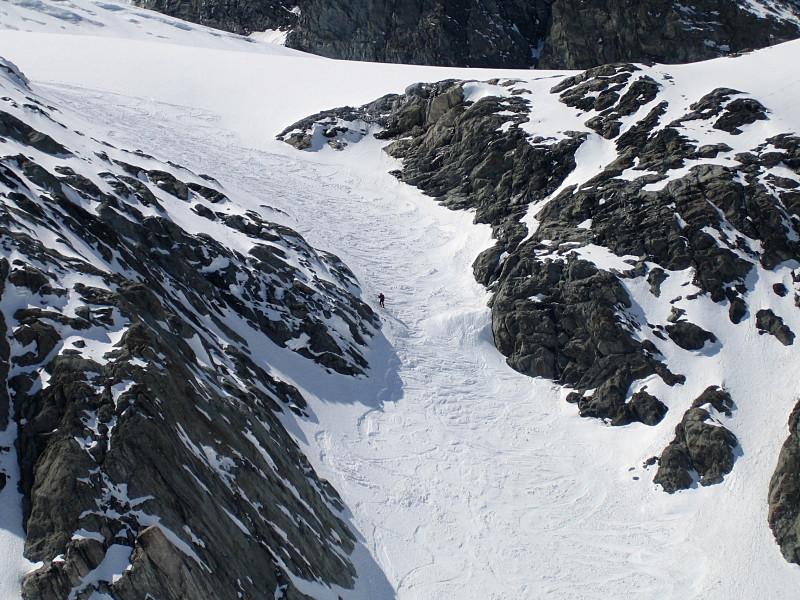 Verrou sous le Glacier de Troquairou