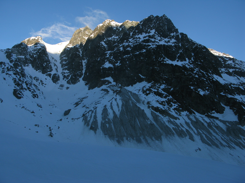 Sur le bas du glacier d'Arolla