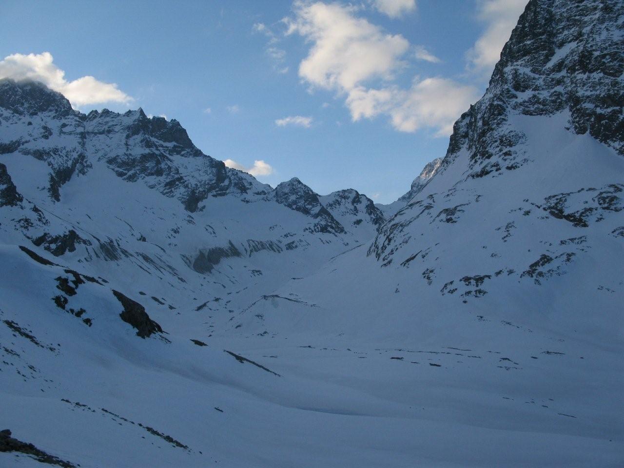 Glacier d'Arolla au matin ...