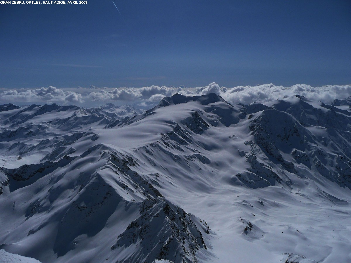 Palon della Mare (3701m) vu du Gran Zebru