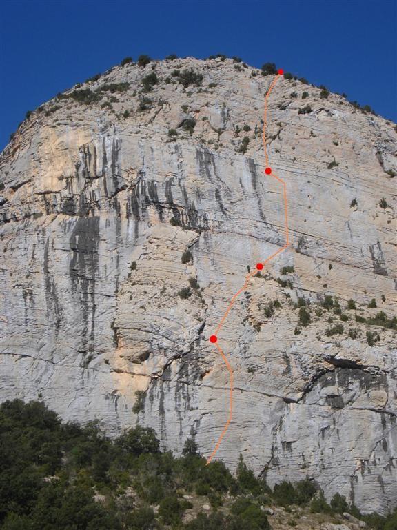 Tracé de Necronomicon à la Roca dels Arcs (Vilanova)